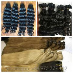 22 inches weft color hair extensions high quality