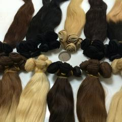 Vietnamese Color Human Hair Extensions From Double Drawn Hair