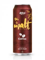 Coffee Flavor Malt Drink from RITA Beverage