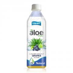 500ml pet bottle aloe vera drink