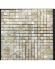 Pompeya Onyx Natural Stone Mosaic Tile In Beige