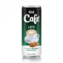Vietnam Coffee Latte drink 250ml Canned VINUT