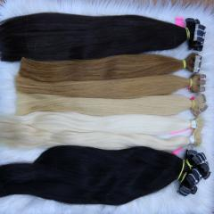 Wholesale virgin remy hair extensions tape in