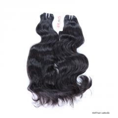 Raw cambodian hair unprocessed