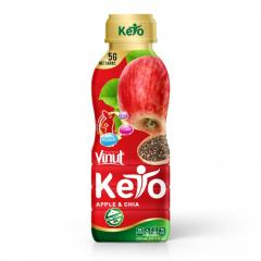 330ml VINUT Keto diet Apple juice with chia seed
