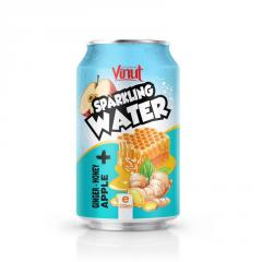 330ml VINUT Ginger Honey Apple Sparkling water