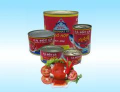 Gobies in tomato sauce