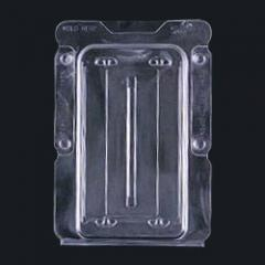 Trays from foam plastic