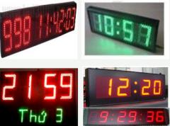 Đồng hồ led sign