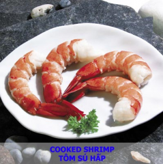 Shrimp cooked