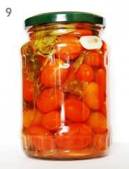 Pickled cherry tomato