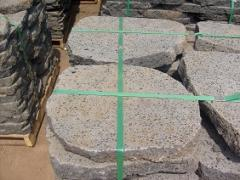 Stonecast (basaltcast) blocks and plates