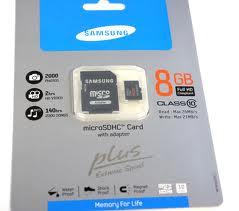 Samsung micro sdhc 8gb class 10