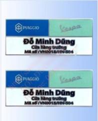 Thẻ chức danh CDM-TCD013 (CDM-TCD013 Card