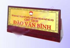 Biển chức danh CDM-BCD012 (CDM-BCD012 Table Name