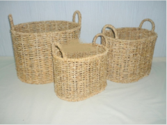 Baskets of vegetables
