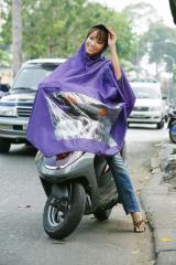 Weatherproof cloak