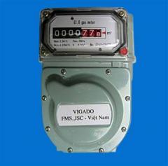 Đồng hồ đo khí dân dụng kiểu màng  Đồng hồ khí
