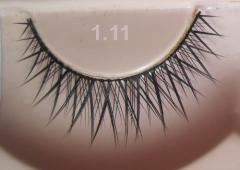 Materials for eyelashes lengthening