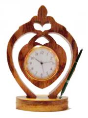 Wooden Clock Desktop