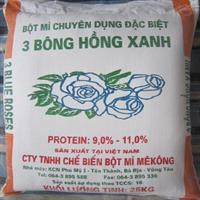 Bột mì 3 Bông Hồng Xanh