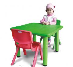 Bàn trẻ em hình vuông bằng nhựa PP cao cấp