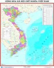 Bản đồ CHXHCN Việt Nam