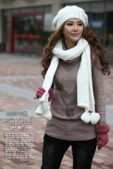 Sành điệu với áo len dài