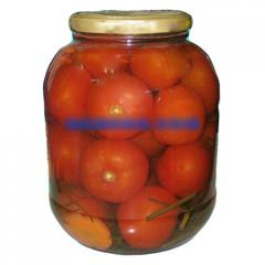 Pickled big tomatoes