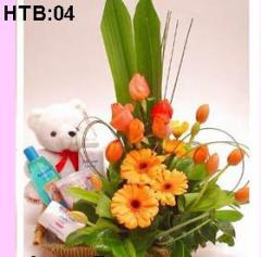 Hoa tặng bé