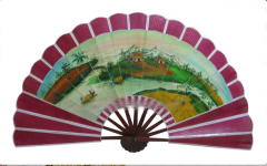 Art & Decoration Bamboo Fan