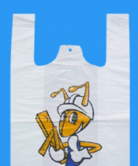 BIO T-shirt plastic bag 2