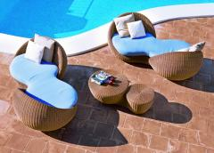 Rattan Relaxation Lounger Chair