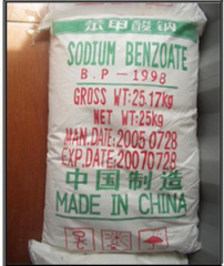 Sodium benzoate (sodium benzoic acid)