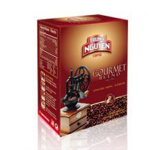 Coffee granulated