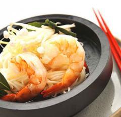 Cooked EZ-Peel Black Tiger Shrimp
