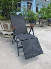 5-pos chair with footrest