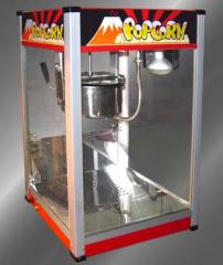 Showcase for popcorn