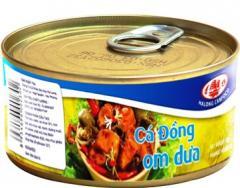 Cá Đồng Om Dưa