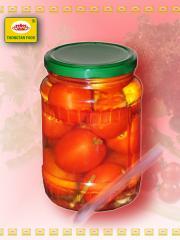 Cà chua quả to dầm dấm / lọ 720ml
