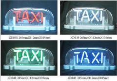 Đèn nóc nhỏ chữ neon 4 mầu đế từ