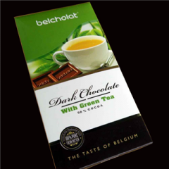 Dark Chocolate with Green Tea 100g