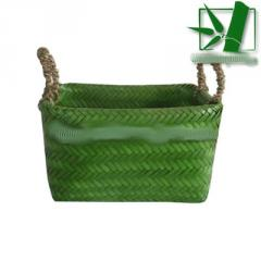 Bamboo basket square