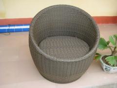 Craft rattan storage basket