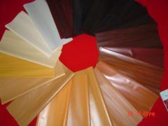 Plastic (polyvinyl chloride) foamed