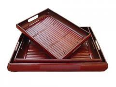 Bamboo Tray 38