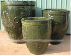 Articles made of ceramics, hand-made