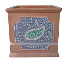 Articles made of unglazed ceramics