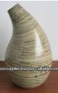 Natural Decorative Laminated Bamboo Vase
