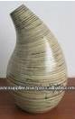 Natural Decorative Laminated Bamboo Vase